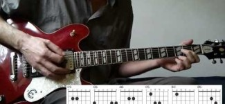 'Touch Too Much'  AC/DC Guitar Tutorial [Malcolm]
