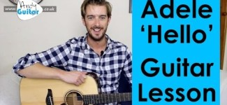 Adele – Hello Guitar Tutorial – Easy Chords!