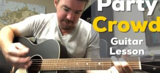 Party Crowd | David Lee Murphy | Beginner Guitar Lesson