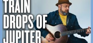Train Drops of Jupiter (Easy Acoustic) Guitar Lesson + Tutorial