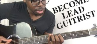 How I started to play lead guitar | Easy way to learn the major scale (African guitar lesson)