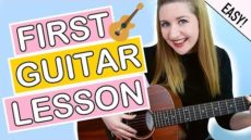 How To Play Guitar – EASY First Guitar Lesson For Beginners!