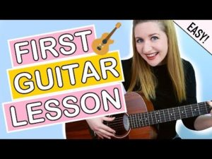 EASY First Guitar Lesson For Beginners