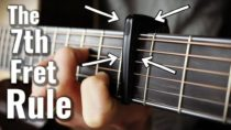 This is Why I Love the Guitar Capo on Fret VII!