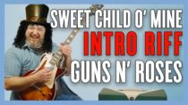 Guns N' Roses Sweet Child Of Mine Intro Guitar Lesson + Tutorial
